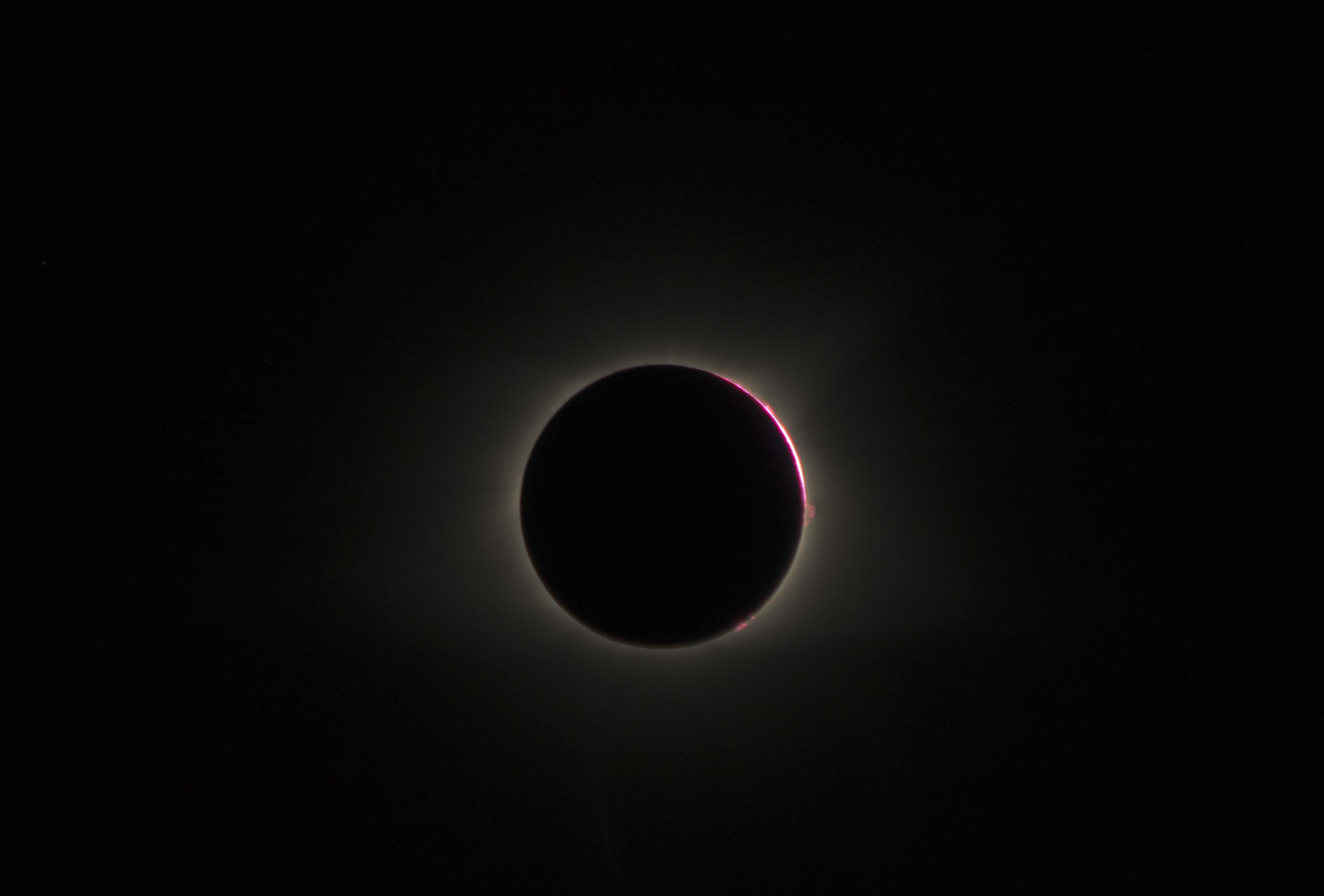 Chromosphere with solar flares