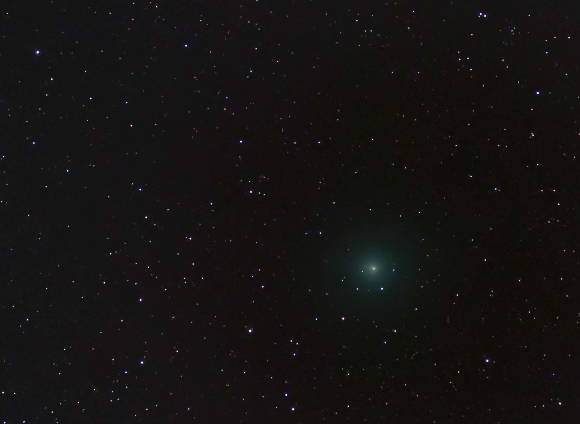 Comet Wirtanen, December 17, 2018