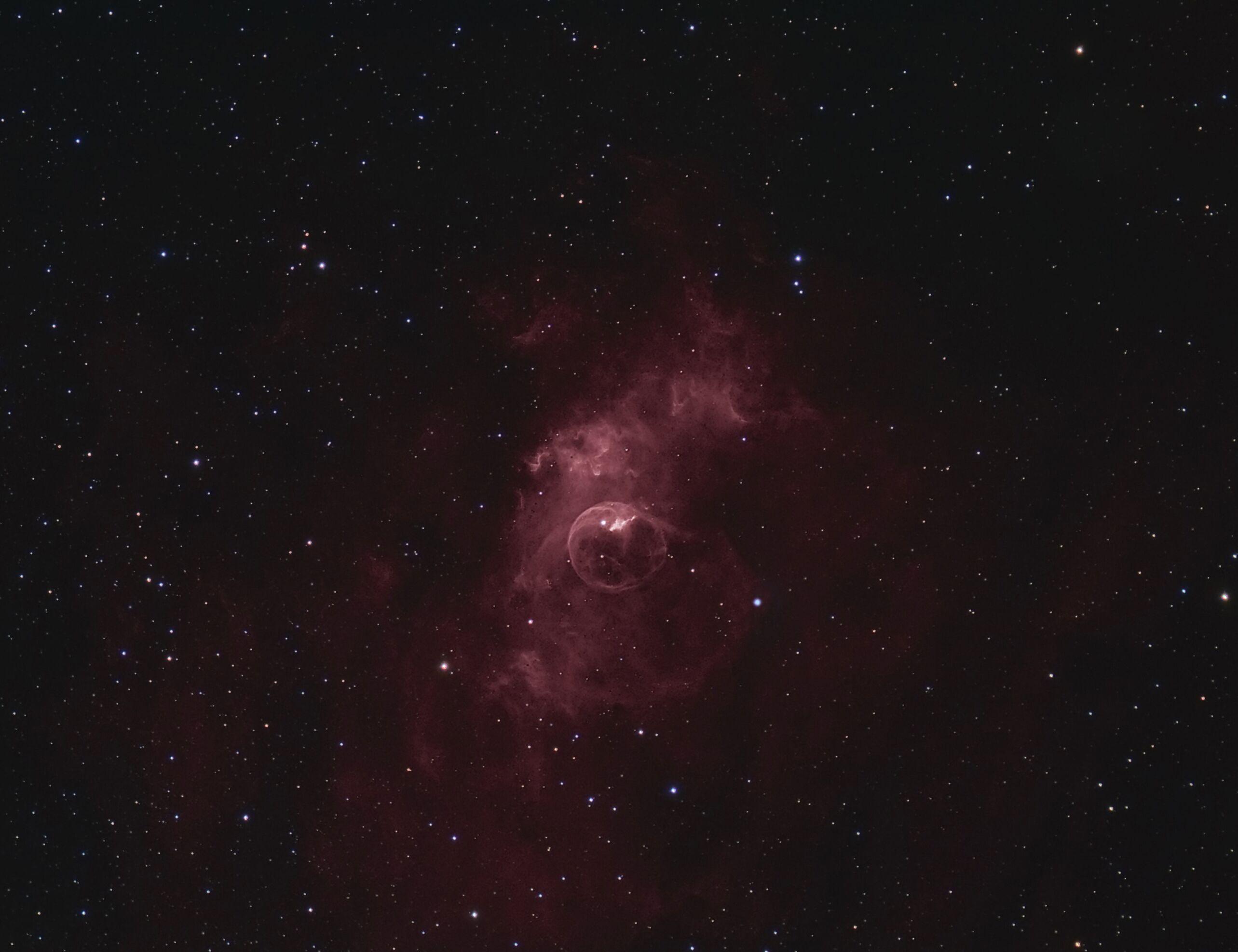 Dennis Wilde NGC7635 Bubble Nebula