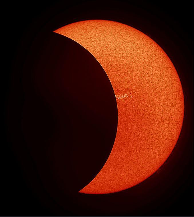 Knox Worde Solar Eclipse