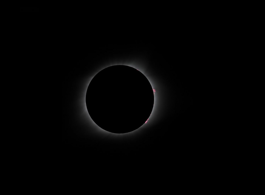 Knox Worde totality prominences