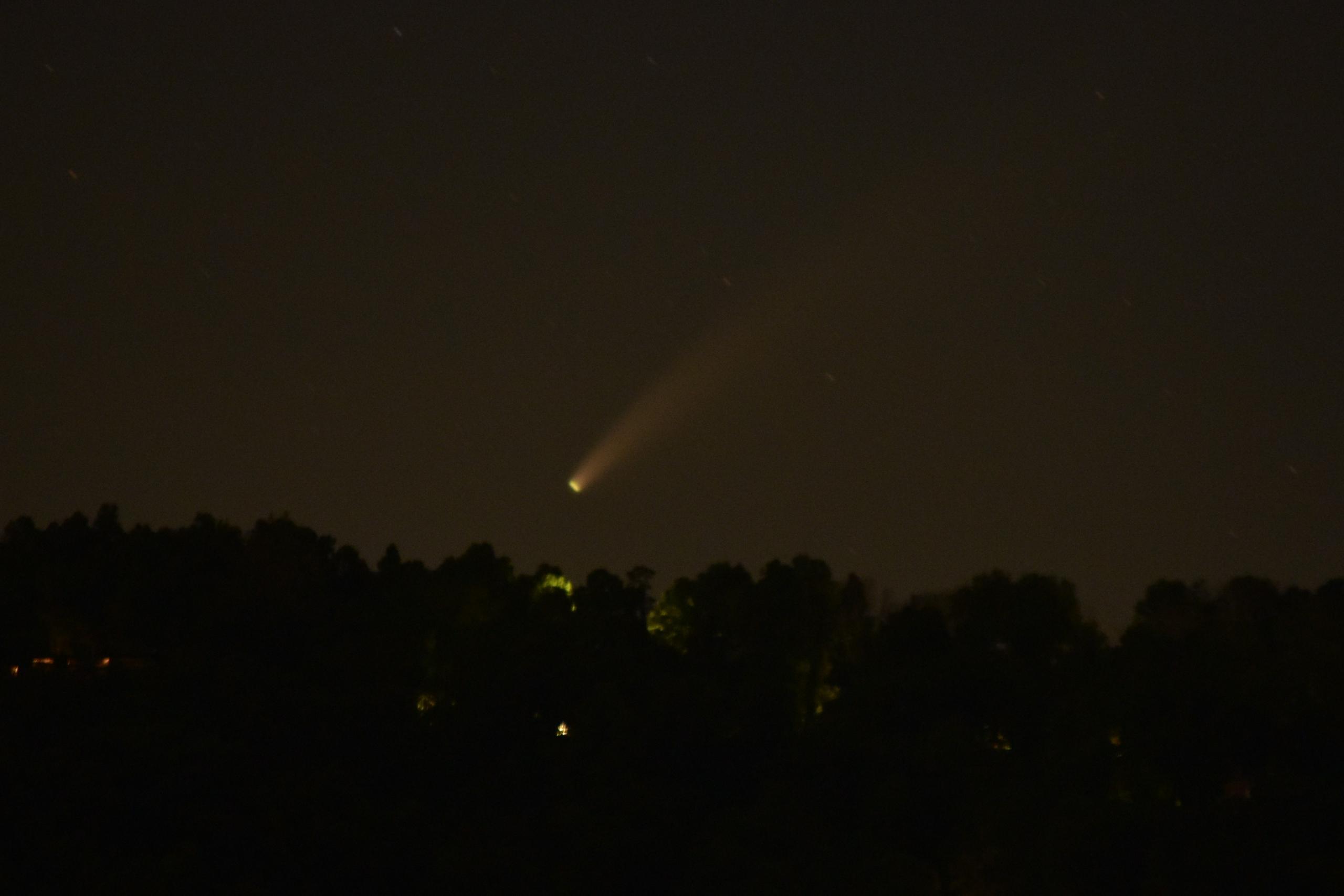 Richard Reynolds Comet NEOWISE